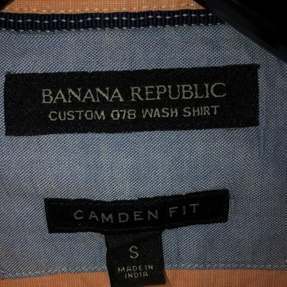 Banana Republic Other - Orange Camden Fit Banana Republic Shirt